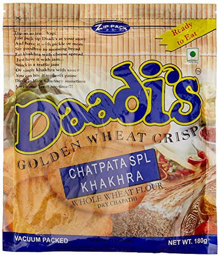 Daadi's Golden Wheat Crisps Chatpata Spl Khakhra (Pack of 3)