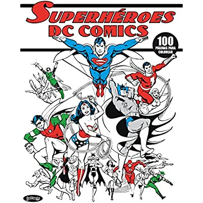 Free Dc Comics Superheroes Libro Para Colorear Pdf Download