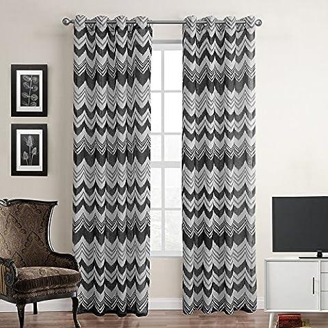 finestre Hotel Light bloccando isolamento soggiorno tende decorative nero e grigio di lino a righe finiti , c190059 , 140x260cm