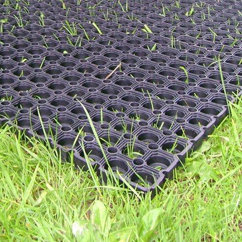 fallschutzmatten spielplatz The Shopfitting Robuste Gummi-Grasmatte, Fallschutzmatte für den Spielplatz, 1,5x1m