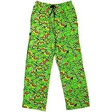 Pantalones largos de pijama para hombre y niño, diseño de personajes de comic y dibujos animados, tallas S a XL