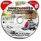 Sweet Home 3D Haus-und Wohnungsplaner Software Komplettpaket PREMIUM NEU 2018