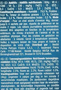Perle Gourmet Filettines en Sauce Repas pour Chat Adulte Dinde/Canard/Agneau/Thon 12 x 85 g