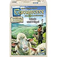 Hans im Glück 48265 Jeu de Famille Carcassonne - les Moutons et Collines Extension 9