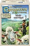 Hans im Glück SSP48265 - Carcassonne: Schafe und Hügel, Familien Standardspiele