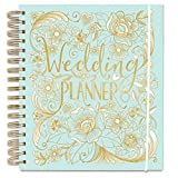 Wedding Planner - Duck Egg Blue - perfect Engagement Gift with sections, checklists and pockets for organising a wedding by Rachel Ellen