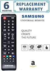 Universal TV Remote for SAMSUNG Tv/Led/lcd (Works With All SAMSUNG Led/Tv/Lcd's/ New & Old Models Tv)