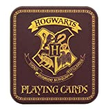 Harry Potter Hogwarts Stemma carte da gioco in una bella scatola di latta im 54ER Set–Hogwarts Logo Poker carta Hogwarts carta magia