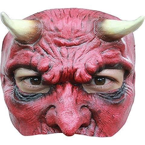 Semi máscara diablo hombre - Única