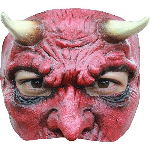 máscara Diablo látex Adulto–Talla única