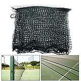 MYAMIA 610 x 75Cm Volleyball Badminton Net Standard Offizielle Größe Netting Sport Rope Net