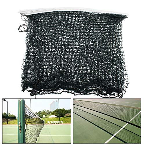 75 Filtration (ChaRLes 610 x 75cm Volleyball Badminton Net Standard Offizielle Größe Netting Sport Rope Net)