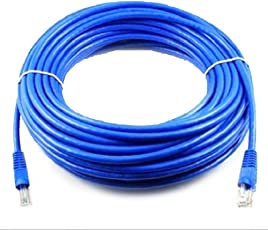 HOT,YANG-YI 100 FT RJ45 CAT5 CAT 5 High Speed Ethernet LAN Network Blue Patch Cable