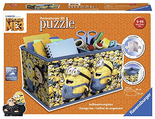 Ravensburger Organizador, Girly Girl Edition, Minions 11260