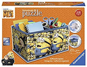 Ravensburger- Organizador, Girly Girl Edition, Minions (11260)