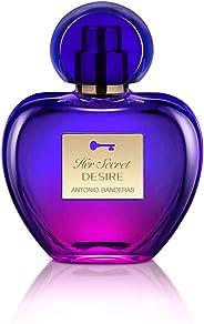 Antonio Banderas Her Secret Desire Eau De Toilette, 50ml