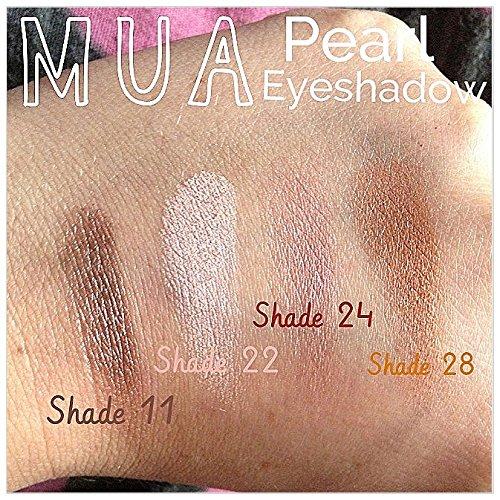 MUA - Pearl Eyeshadow - Copper - Copper Gold Shimmer (shade 28)