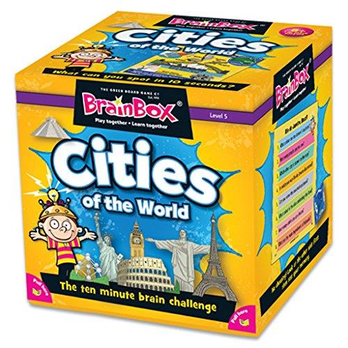Green Board Games G0990044 BrainBox Cities