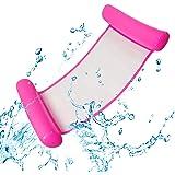 Uniguardian Aufblasbare Wasserhängematte Schwimmbett Aufblasbare Hängematte Pool Float Lounge Wasserstuhl Wasser Hängematte 4