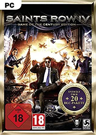 Saints Row IV Game of the Century Edition [PC Steam Code]