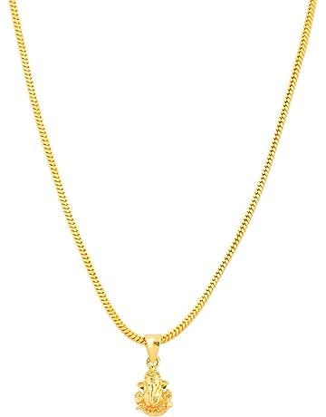 9df3819af46 Handicraft Kottage Gold Plated Pendant for Men (Golden) (HK-102-NR