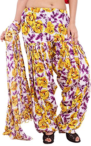 Decot Paradise Women's Cotton Patialas Punjabi Patiala With Duppatta (sl3064