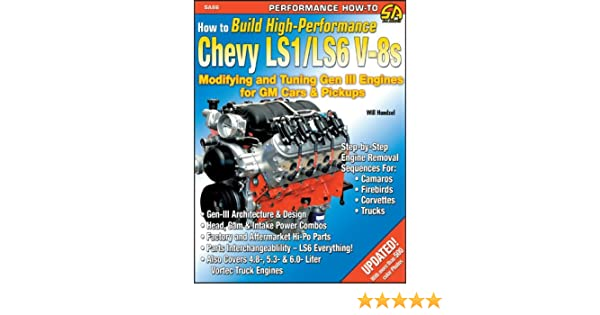 How To Build High-Performance Chevy LS1/LS6 V-8s: Modifying ...  Chevy Engine Internal Diagram on