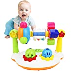 Toddler Musical Toys, Womdee Baby Walker Toy with Music and Flash Lights Multifunctional Rotating Rattle Toys Preschool...