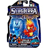 Slugterra Series 4 Chiller & Fire Elemental Exclusive Mini Figure 2-Pack (Jakks Pacific) by SLUGTERRA