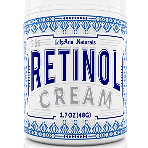 Retinol Cream Moisturizer for Face and Eyes, Use Day and Night - for Anti Aging, Acne, Wrinkles - made with Natural and Organic Ingredients...