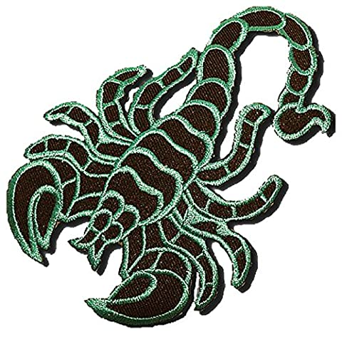 Scorpion coutures bleues