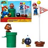 Jakks Pacific Super Mario-figurer, 6 cm (85987), färgglada