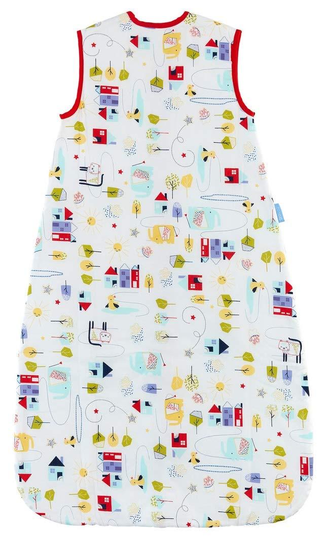 Grobag – Saco de dormir para bebé, 2,5 Tog, diseño de sol de Good Morning Sunshine 100% algodón, unisex multicolor Talla:0-6 meses