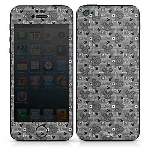 Apple iPhone 5s Case Skin Sticker aus Vinyl-Folie Aufkleber Disney Mickey Mouse Geschenke Fanartikel DesignSkins® glänzend