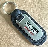 """Schlüsselanhänger mit Schriftzug """"Range Rover Sport"""", Leder"""