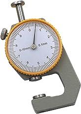 Phenovo 0-10mm Sheet Metal Leather Pocket Thickness Gauge Measurement Flat Head
