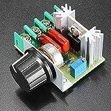Ils - 3 Stücke 2000W Drehzahlregler SCR Spannungsregler Dimmer Thermostat