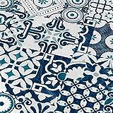 FALQUON Laminat Q013 Agura (Matt) buntes Mosaic Dekor 8mm | Musterstück