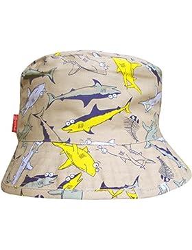 De Niño Tiburón Diseño Vacaciones Estilo De Cubo Verano Sol Sombrero Playa