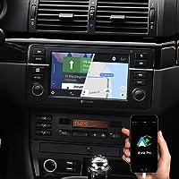 DYNAVIN Navigation Radio für BMW 3er E46, 7 Zoll Autoradio mit Bluetooth, Inkl. DAB+, USB, Kompatibel mit Carplay und…