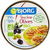Bjorg Terrine Végétale Olives 125 g - Lot de 6