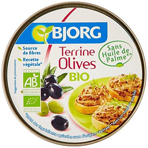 Bjorg Terrine Olives Bio 125 g