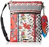 Desigual Bols_tripatch Ghana, Women's Cross-Body Bag, Red (Carmin), 3x29x22.3 cm (B...
