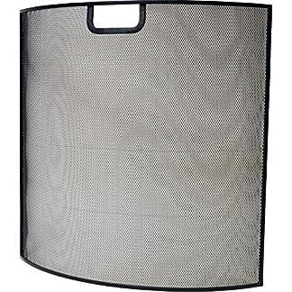 Ivyline ifs6060cm, Pantalla para Chimenea, Color Negro