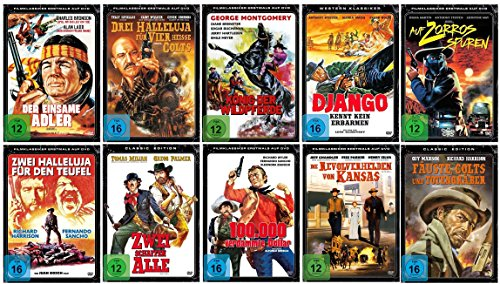 Die Western Klassiker Fan Box Collection [10 DVDs]