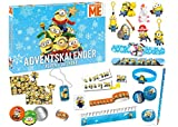 Image of Craze 57422 Minions Adventskalender, Bunt