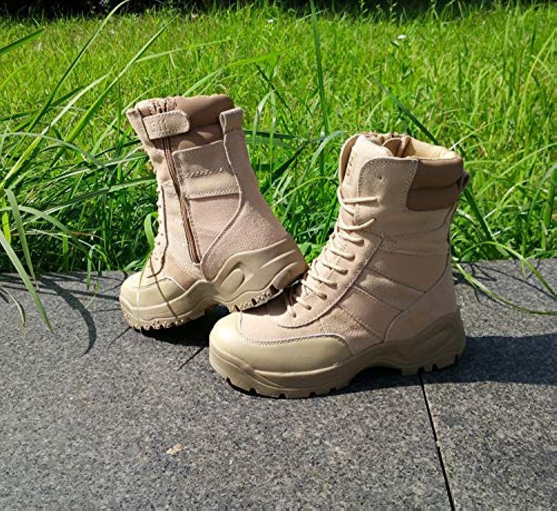 HCBYJ scarpa PU Outdoor Outdoor Uomo Outdoor Outdoor PU Scarpe Impermeabili Stivali Militari Tattici Resistenti... | Nuovo Stile  | Uomini/Donne Scarpa