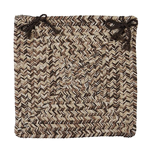 Colonial Mills CC99Korsika Stuhl Pad 4-Pack Weathered Brown -