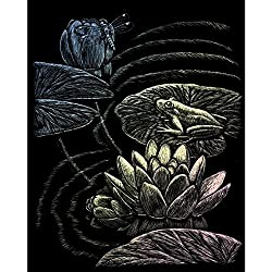 Royal Brush Holographic Foil Engraving Art Kit, 8 by 10-Inch, Frog Pond