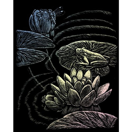 holographic-foil-engraving-art-kit-8x10-frog-pond